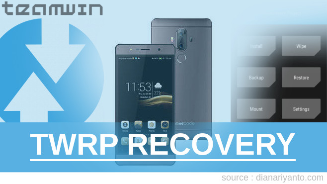 Pasang TWRP BRANDCODE B5S Tested